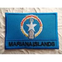 Ecusson drapeau Iles mariannes
