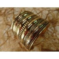 Bracelet manchette plissage