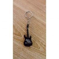 Porte clés noir guitare Iron Maiden