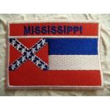 Ecusson drapeau Mississipi