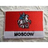 Ecusson drapeau Moscou