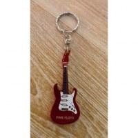 Porte clés bordeaux guitare Pink Floyd
