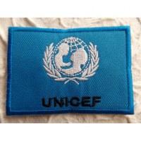 Ecusson drapeau Unicef