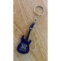 Porte clés bleu guitare Queen