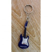 Porte clés bleu guitare Pink Floyd
