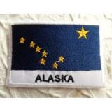 Ecusson drapeau Alaska