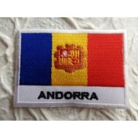 Ecusson drapeau Andorre