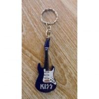 Porte clés bleu guitare Kiss