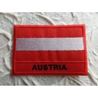 Ecusson drapeau Autriche