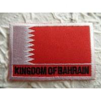 Ecusson drapeau Bahreïn