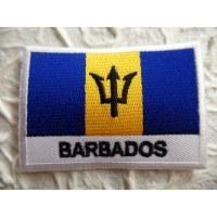 Ecusson drapeau de la Barbade