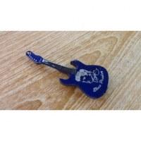 Magnet bleu guitare Elvis Presley