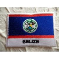 Ecusson drapeau Bélize