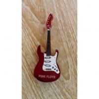 Magnet bordeaux guitare Pink Floyd