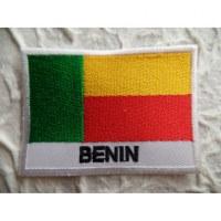 Ecusson drapeau Bénin