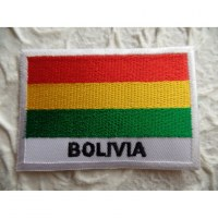 Ecusson drapeau Bolivie