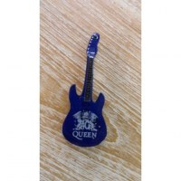 Magnet bleu guitare Queen
