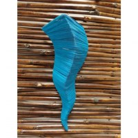 Applique murale Ondulation bleu