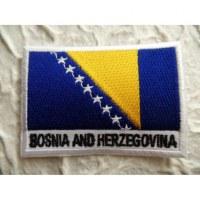 Ecusson drapeau Bosnie Herzégovine