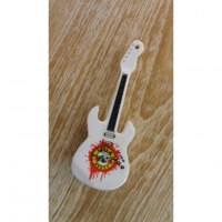 Magnet blanc guitare Guns N' Roses