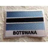 Ecusson drapeau Botswana