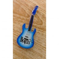 Magnet bleu guitare Beatles