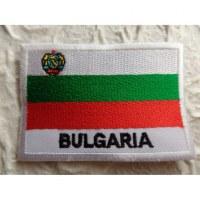 Ecusson drapeau Bulgarie