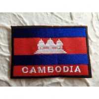 Ecusson drapeau Cambodge