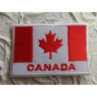 Ecusson drapeau Canada