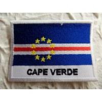 Ecusson drapeau Cap Vert