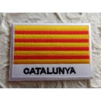 Ecusson drapeau Catalogne