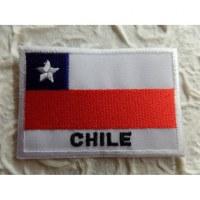 Ecusson drapeau Chili