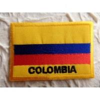 Ecusson drapeau Colombie
