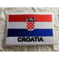 Ecusson drapeau Croatie
