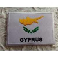 Ecusson drapeau Chypre