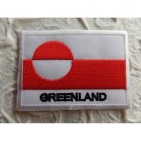 Ecusson drapeau Groenland