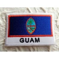 Ecusson drapeau Guam