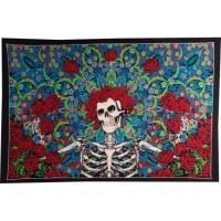 Tenture color Santa Muerte