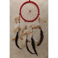 Attrape rêves rouge Hopi II