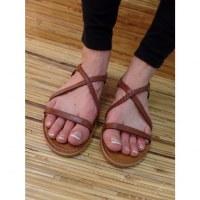 Sandales Tropéziennes Hanano tan