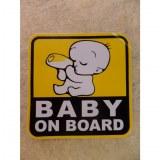 Autocollant bébé à bord