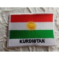 Ecusson drapeau Kurdistan