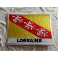Ecusson drapeau Lorraine