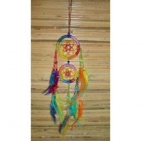 Dreamcatcher zia rainbow color
