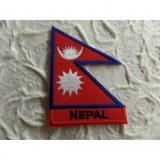 Ecusson drapeau Népal