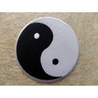 Patch blanc/noir yin yang