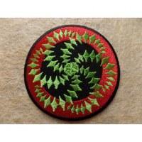 Patch spirale verte