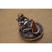 Porte encens gris Bouddha Pu Thai