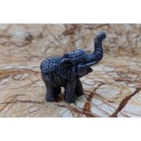 Eléphant mini gris