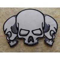 Ecusson 3 crânes